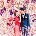 森林風婚禮x多彩紙花 Luke&Cara.jpg