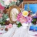 森林風婚禮x多彩紙花 收禮桌 Luke&Cara 02.jpg