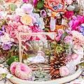 森林風婚禮x多彩紙花 相簿桌 Luke&Cara 01.jpg