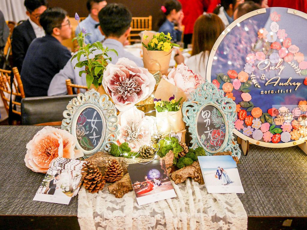繽紛水彩森林x紙花婚禮 收禮桌  Only%26;Audrey 02.jpg