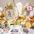 淺紫優雅浪漫氛圍x紙花婚佈 收禮桌 Johnny&Paulina 01.jpg