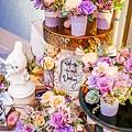 淺紫優雅浪漫氛圍x紙花婚佈 相簿桌 Johnny&Paulina 01.jpg