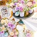 淺紫優雅浪漫氛圍x紙花婚佈 相簿桌 Johnny&Paulina 03.jpg
