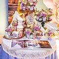 淺紫優雅浪漫氛圍x紙花婚佈 相簿桌 Johnny&Paulina 06.jpg