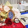 絢爛華麗色調x紙花婚佈 收禮桌 黃先生&黃太太 02.jpg