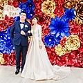 絢爛華麗色調x紙花婚佈 黃先生&黃太太.jpg