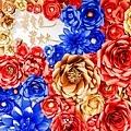 絢爛華麗色調x紙花婚佈 紙花牆 黃先生&黃太太 01.jpg