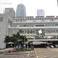 IFC上的apple旗艦店