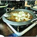 晚上吃韓式燒烤烤肉+季節小菜