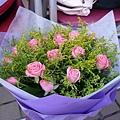 送給正弟的花