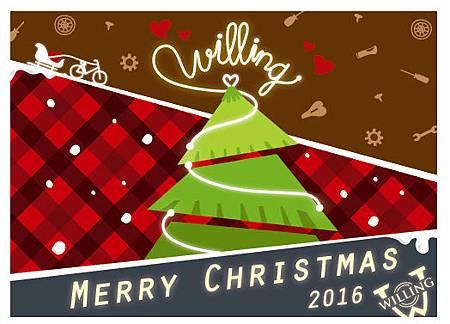 威輪2k7聖誕卡