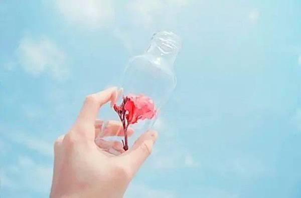 一個空瓶!你向瓶子裡面倒什麼,你得到的就是什2
