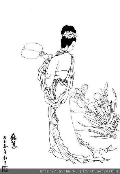 仕女百圖-025