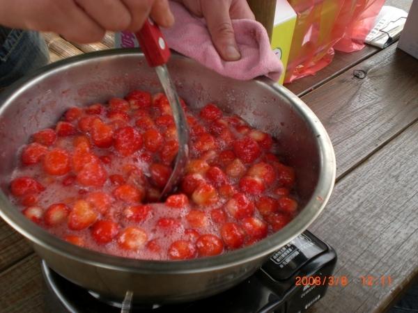 自製草莓醬