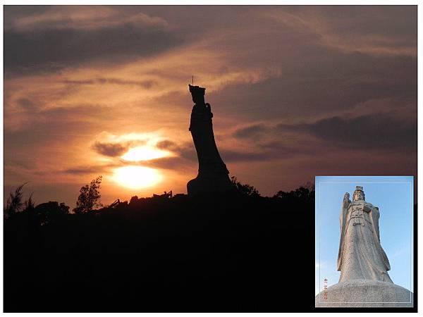 媽祖巨石像