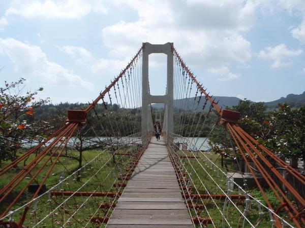 超搖晃的吊橋