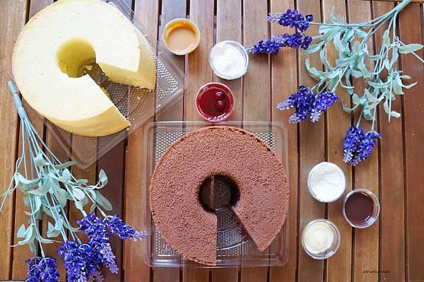 1444963926 872624422 n - [熱血採訪]台中 七個小日子戚風蛋糕 多種口味沾醬多變化 宅配也適合!梨子咖啡館關係企業