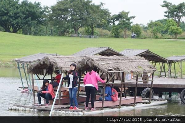 大坡池竹筏季
