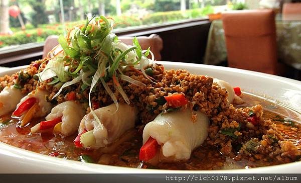 魚虎料理-豆酥魚虎百花捲