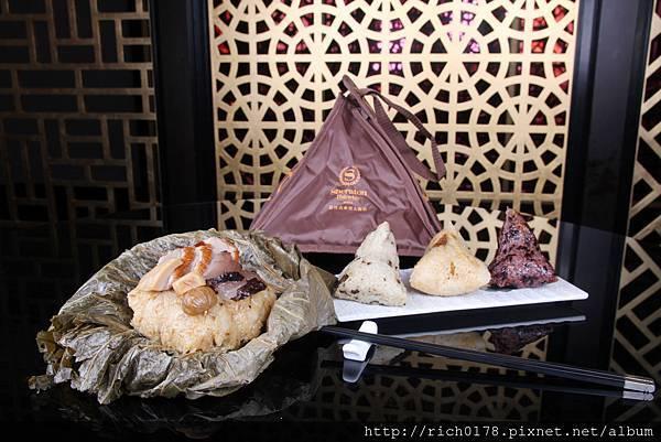 黎氏至尊粽重達半公斤 使用頂級食材