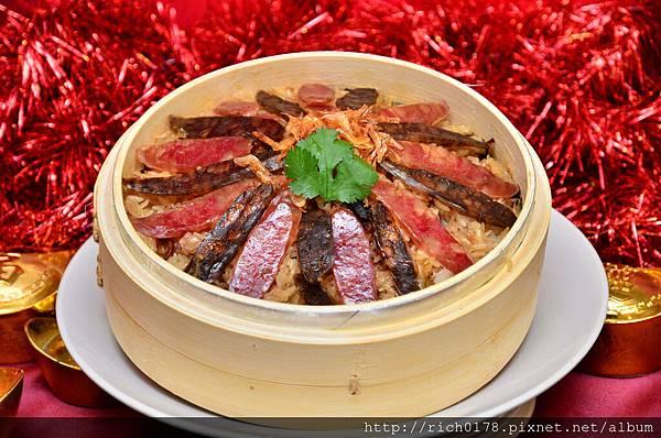 墾丁福華年菜-港式臘腸米糕