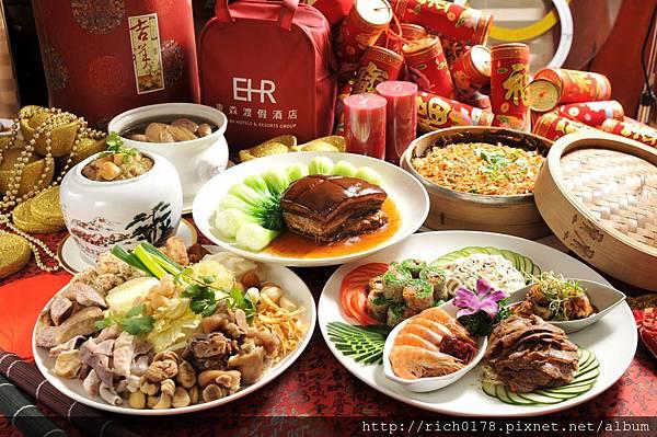 東森山林年菜外帶與桌菜