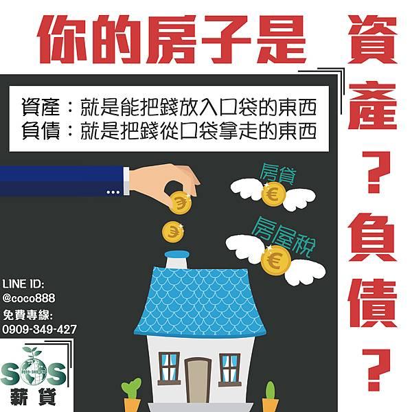房子是資產還是負債17.9.27