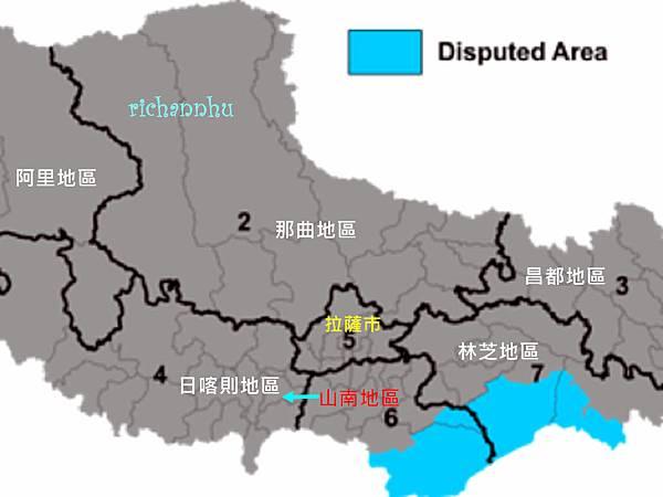 白02西藏地圖