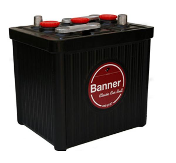 Banner首款乾式啟動電池