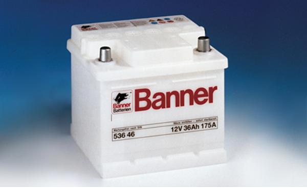 鉛鈣鋅為基礎免保養Banner電池