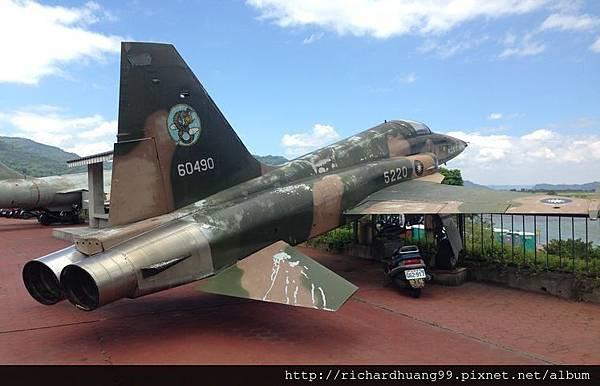 玉山國家公園水里遊客中心戰鬥機-44.jpg