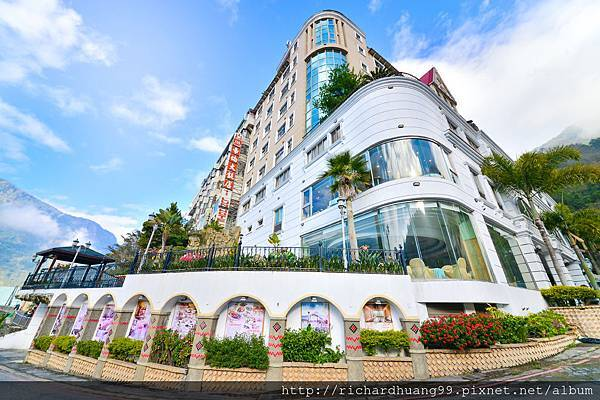 南投 東埔 帝綸溫泉渡假大飯店 外觀