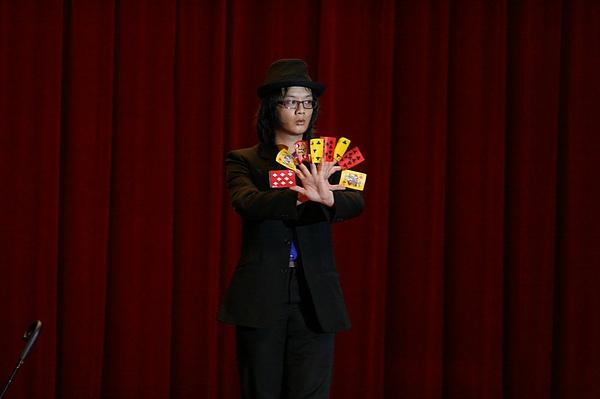 中韓國際魔術交流賽參賽者