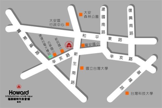 公務人力發展中心地圖