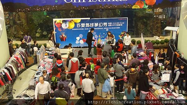 2011-1204高島屋 百變氣球夢幻秀 (7).JPG