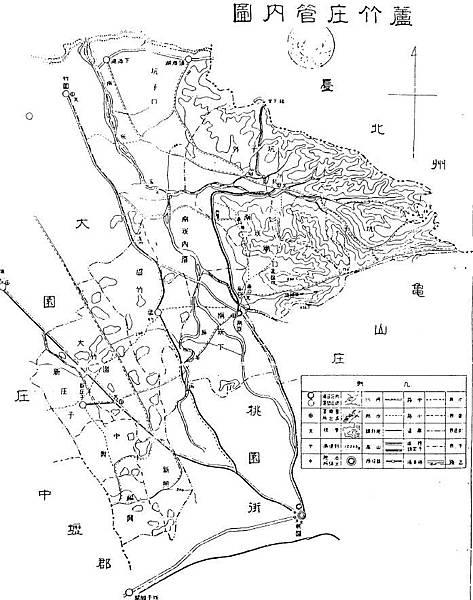 1903日治行政圖