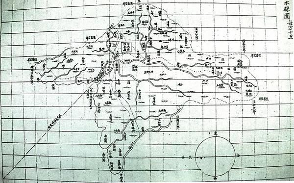 1888台灣地輿總圖