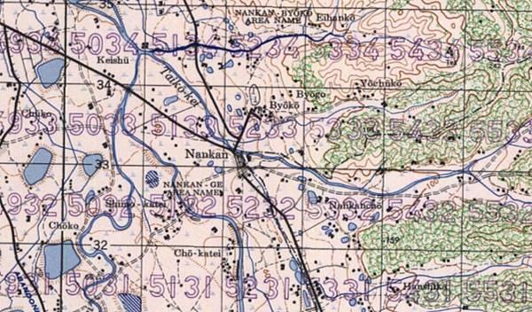 1940美軍地形圖