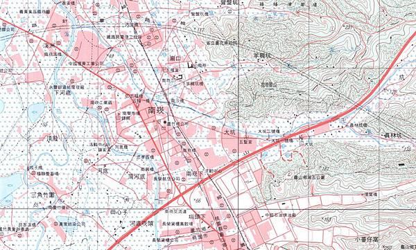 2001經建版地圖