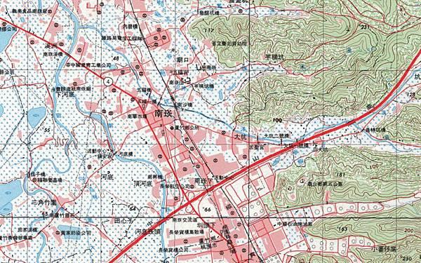 1993經建版地圖