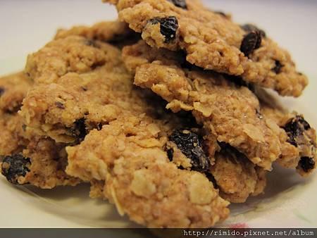 葡萄燕麥餅乾