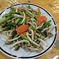 蘆筍紅喜菇