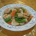 豌豆炒蝦仁