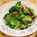 生菇炒菁花菜