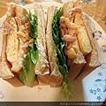 鮪魚蛋三明治