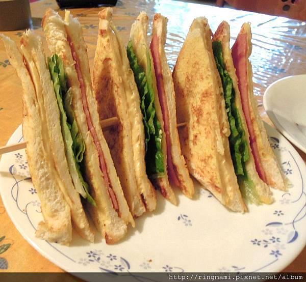 法式吐司三明治