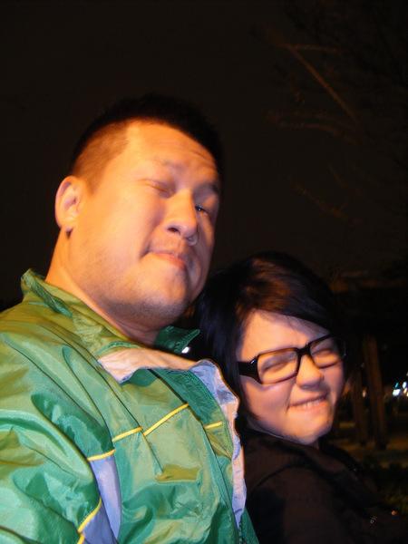 (左)金門王與(右)李炳輝