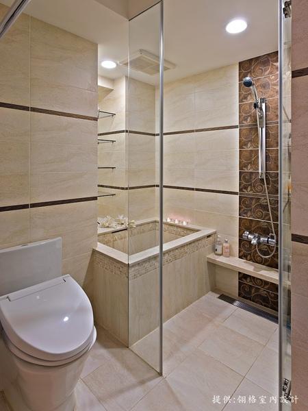 浴室、淋浴間