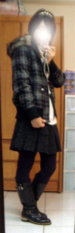 lf格紋外套-2