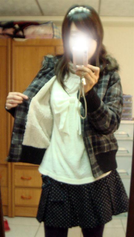 lf格紋外套-3